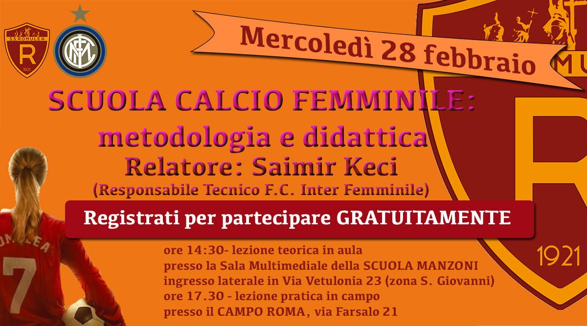 28 Febbraio – Roma – Scuola Elementare Manzoni