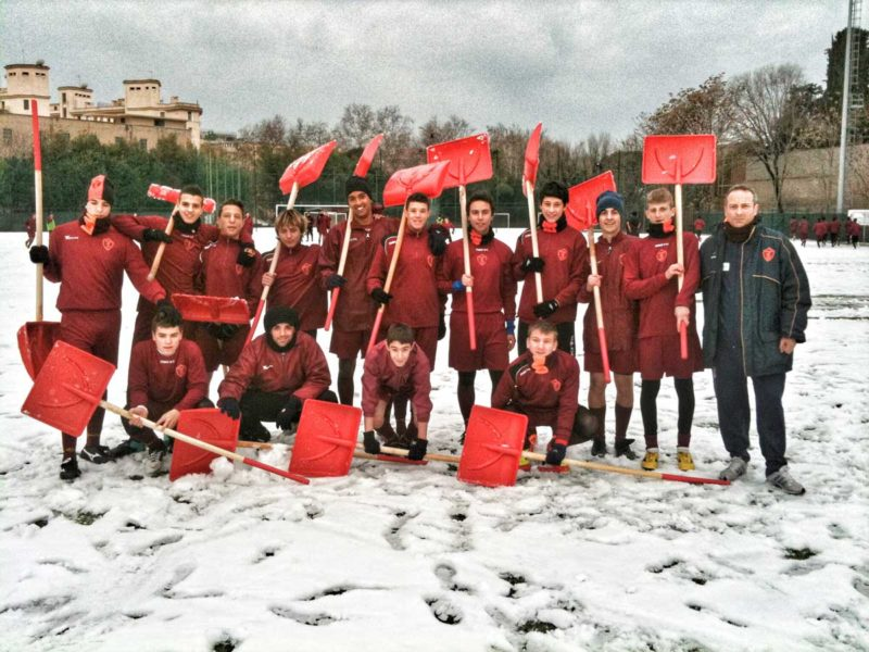 Neve A Roma – Ripresa Per Attività Agonistica