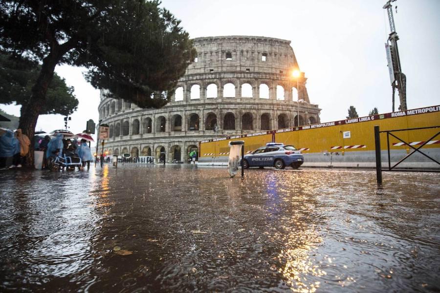 Allerta Meteo Su Roma: Sospensione Degli Allenamenti