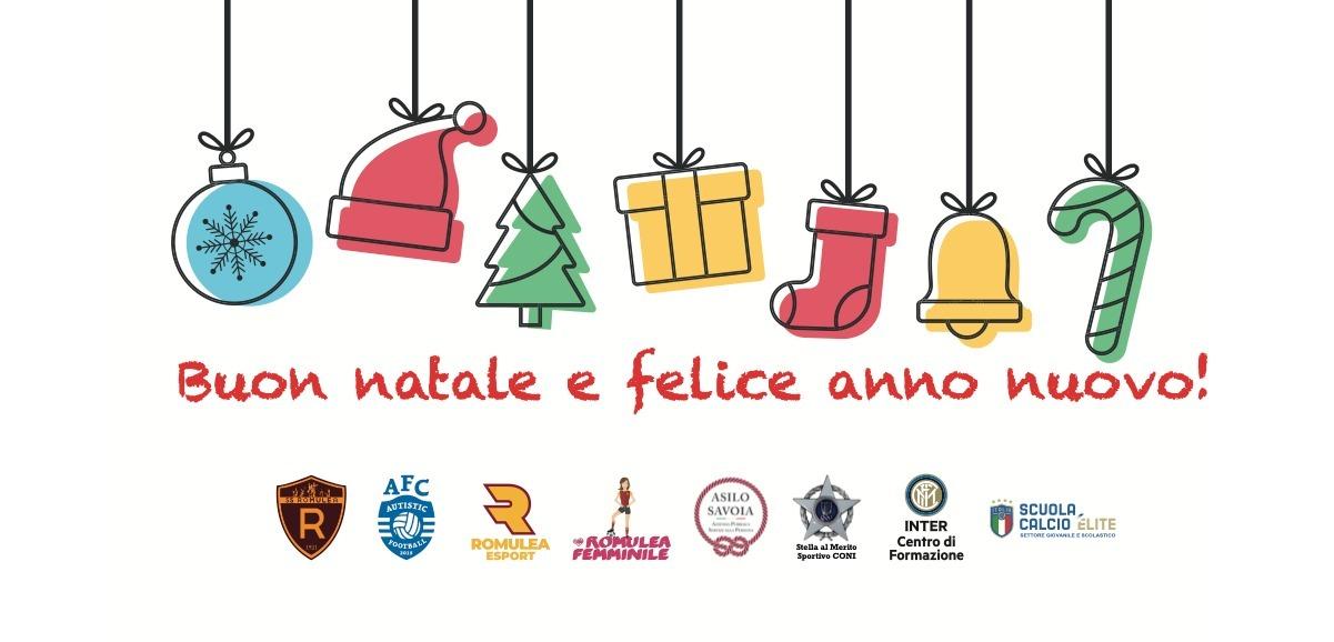 Auguri Di Natale Per Sportivi.Programma Per Le Feste Di Natale 2k20 Ss Romulea