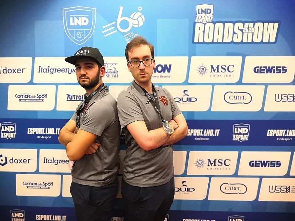 La Romulea ESport Si Aggiudica Il Titolo Di Campione Della Regione Al Torneo Roadshow Della Lega Nazionale Dilettanti