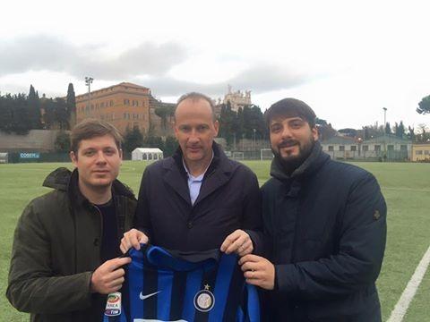 """A Roberto Samaden Di FC Inter Il """"Premio Favini"""""""