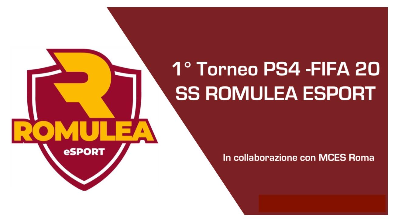 1° torneo PS4 – FIFA20 SS ROMULEA ESPORT