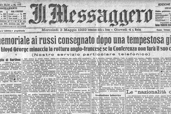 Comunicato Ufficiale: La Romulea è Nata Nel 1922