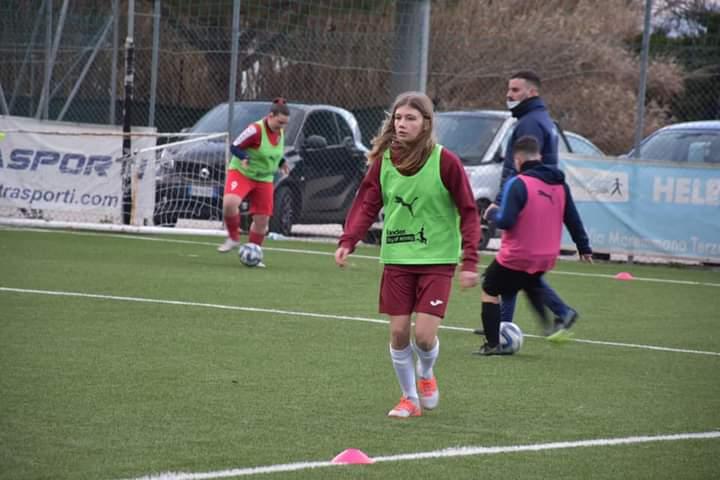 Romulea Femminile Convocate 5 Calciatrici Al Centro Tecnico Federale FIGC
