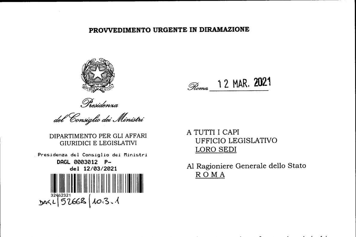 Decreto Legislativo 12 Marzo 2021: Attività Sportive Sospese Anche In Forma Individuale